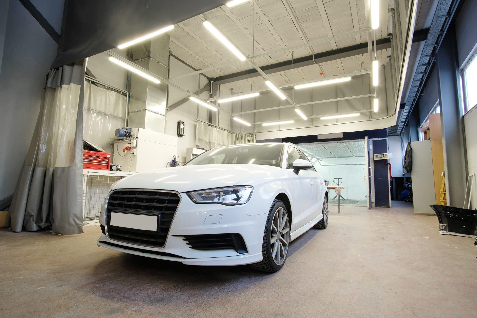Led verlichting garage